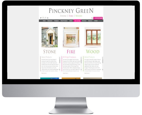 pinckney green website