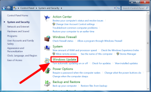 how to update windows 7 step 4