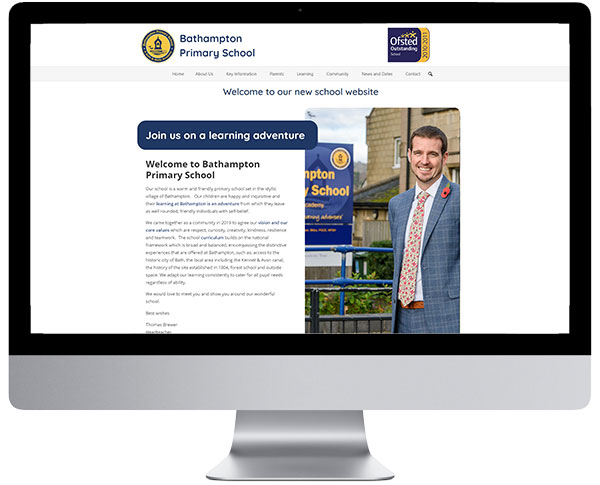 Bathampton Primary School Website - Designed by Cosmic Computers